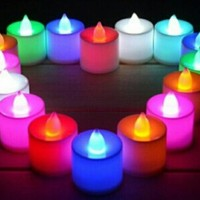 Jual [BEST QUALITY] Lilin Electric Elektrik rainbow color (LEW) Murah