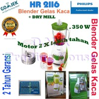 Jual BLENDER PHILIPS HR 2116 KACA - HIJAU Murah