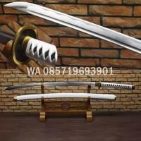 Jual Pedang Samurai Katana Zoro Wado ichimonji Fulltang Kualitas Oke PS19   Murah