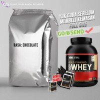 harga On Optimum Nutrition Whey Gold Standard 100% 3 Lbs Repack/trial Size Tokopedia.com