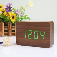 Jual MEDIUM LED WOOD CLOCK Murah