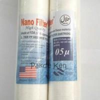 Jual Nano Cartridge Filter Air / Water Filter 10