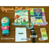 Jual  Boneka HAFIZ HAFIZAH TALKING DOLL new version BilingualSingl T0310 Murah
