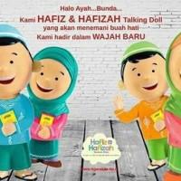Jual  Boneka HAFIZ HAFIZAH TALKING DOLL new version BilingualSepas T0310 Murah