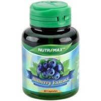 NUTRIMAX BILBERRY EXTRACT 10000 MG 60'S