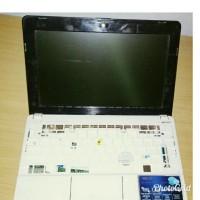 Jual Casing Bawah atas Frame lcd Netbook asus eepc 1015B Putih Murah