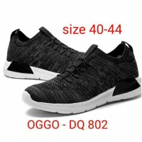 Sepatu casual Oggo DQ 802 slipon olahraga running