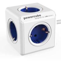 Stop Kontak Steker Listrik Allocacoc Powercube Extended 1.5m Blue