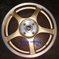 harga Velg R17-0044 W 260 Mig Gold Panther, Livina, Avanza Tokopedia.com