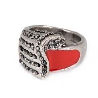 harga C03686 - Cincin Korea Silver Alloy Diamond Red Tokopedia.com