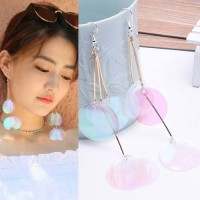 Jual Anting Korea Bright sequins tassel earrings Murah