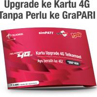 Kartu Upgrade 4G Telkomsel (bisa untuk Simpati, Kartu AS, dan Loop)