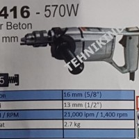 BOR BETON / BOR BESI MAKITA TYPE 8416