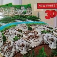 Jual Sprei Bonita New White Tiger 180x200 Murah