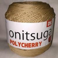 Benang Rajut POLYCHERRY Onitsuga warna MOCCA (402BL)