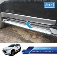 harga All New Pajero Sport List Body Samping Jsl / Side Body Molding Chrome Tokopedia.com