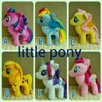 Jual Boneka My Little Pony Ponny Kuda Poni Size L Murah