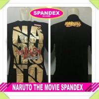 Jual Baju Kaos Distro Anime Kartun Naruto The Movie Spandek Hitam Murah Murah