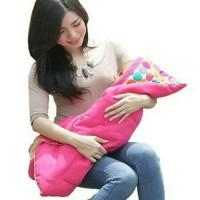 Jual Snobby selimut bayi topi marble/baby blanket/selimut topi Murah