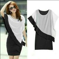 Jual BO Black jessy layer dress Murah
