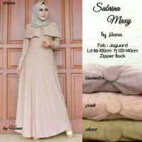 Jual Gamis Muslimah Sabrina Maxi Dress Murah