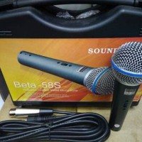 MIC KABEL SOUNDCRES BETA-58S (KOPER)