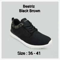 harga Sepatu Wanita Tomkins Original Beatriz Blackbrown Tokopedia.com