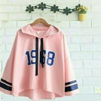 sweat viola hoodie pink