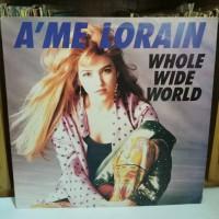 Jual Piringan Hitam A'me Lorain - Whole Wide World Murah