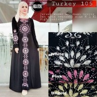 arab gamis kaftan maxi hitam maxy dress longdress xl jumbo big size
