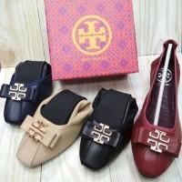 Sepatu Tory Burch Flat Premium Import