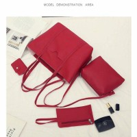 Jual NEW Fashion Shopping Bag 4in1 8s Material Faux Togo Leather Murah