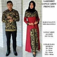 Jual sarimbit couple kemeja batik Longcardy princess Murah