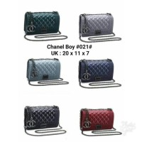 Jual Chanel Boy Jelly Single Bag Mini Murah