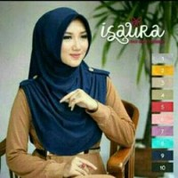 Kerudung Jilbab Rumana instan / Hijab Isaura kerut benik samping