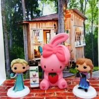 Jual Squishy Bunny Strawberry Rabbit Squishy Kelinci Squishy Murah Murah