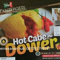 Jual panzerotti the real italian fried pizza -roti goreng 1 pack isi 6 pc Murah