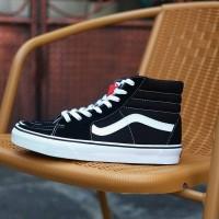 Jual Vans Sk8 High Classic Black and White Murah