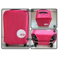 Jual Luggage Cover Case Pelindung Koper Sarung Warna untuk Tas Koper Murah