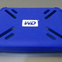 Silicon Case Hard Disk External WD Size 500Gig