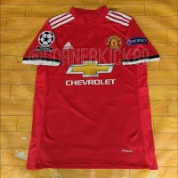 Jual JERSEY MANCHESTER UNITED HOME 17-18 + PATCH UCL Murah