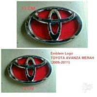 harga Emblem Logo Depan Belakang Toyota Merah Avanza 2005-2011 Tokopedia.com
