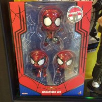 Jual HOT TOYS HOTTOYS COSBABY 369 SPIDERMAN SPIDER MAN HOMECOMING SET OF 3 Murah