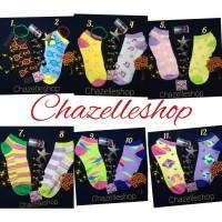 Jual kaos kaki murah ankle sock neon sock kaos kaki motif murah ECERAN Murah