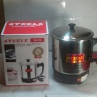 Jual Electric Heating Cup Steele EC-15 / Mug Pemanas Elektrik 15cm 250 Watt Murah