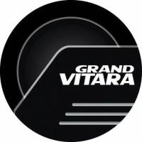 Jual cover ban mobil GrandVitara black kulit sintetis Murah