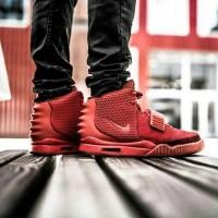 Nike Air Yeezy Red October UA Sepatu Jalan Pria PREMIUM