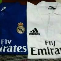 Jual Polo shirt-Tshirt-Kaos Kerah ADIDAS REAL MADRID Keren Murah