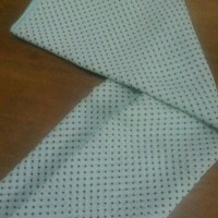 Jual Kerudung / Hijab Motif Polkadot Bahan Sifon Fine Murah