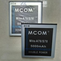 Baterai Mito A78 / S78  Batre Batere Batrei Baterei Battery Mcom